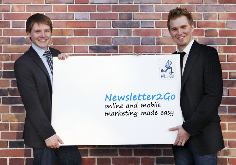 Das Newsletter2Go Gründerteam