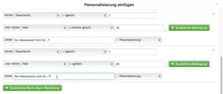 HTML-Email personalisiert versenden