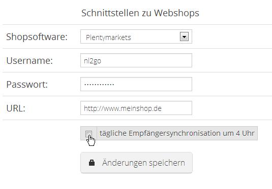 plentymarkets - Schnittstellen zu Webshops