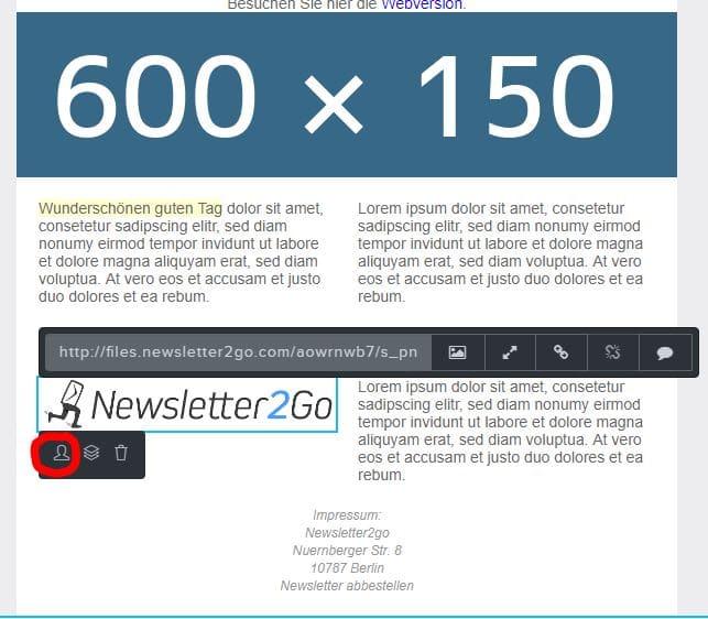 Bildbausteinpersonalisierung_Newsletter2Go