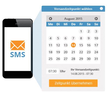 Zeitgesteuerter SMS-Versand