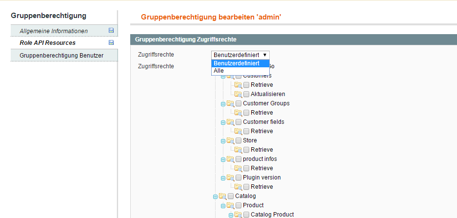 Installation de magento avec exemple de saisie de données