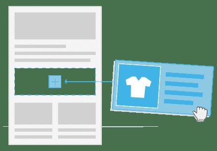 Newsletter erstellen_1-Klick-Produktuebernahme