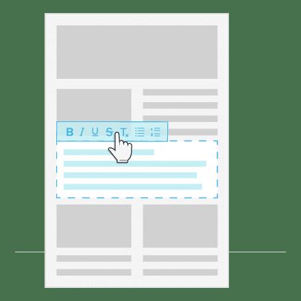 Newsletter erstellen_Text_formatieren