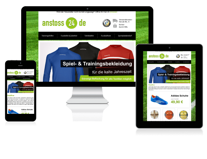 anstoss24.de Newsletter