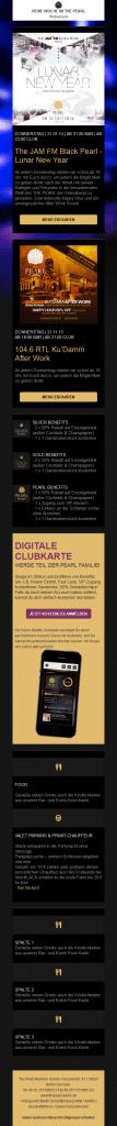 JamFM Newsletter Mobile Version