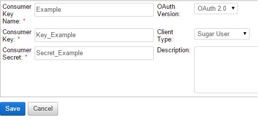 OAuth Key generieren