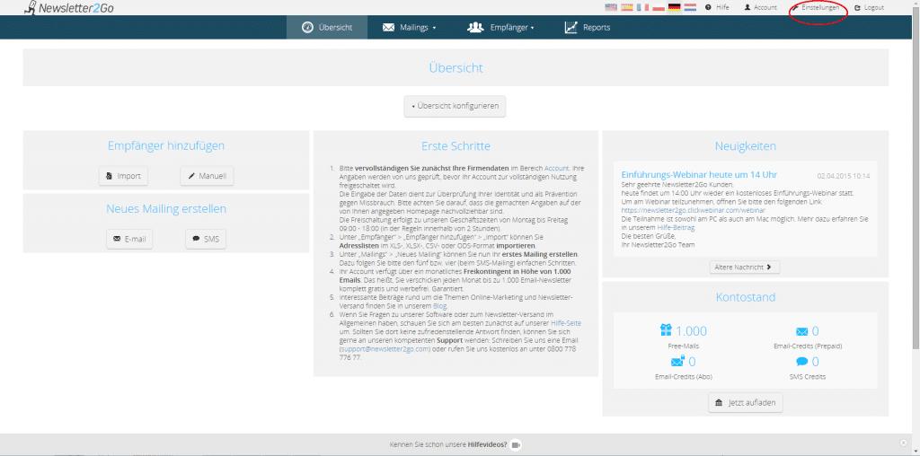 OpenCart Newsletter Plugin 04