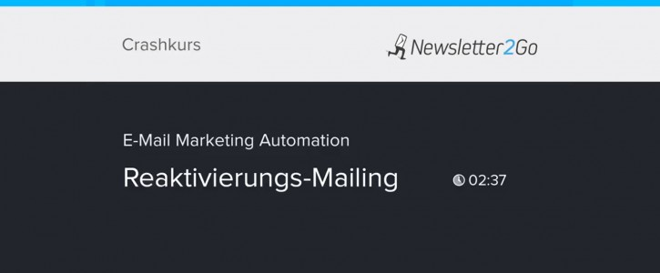 Reaktivierungs-Mailing