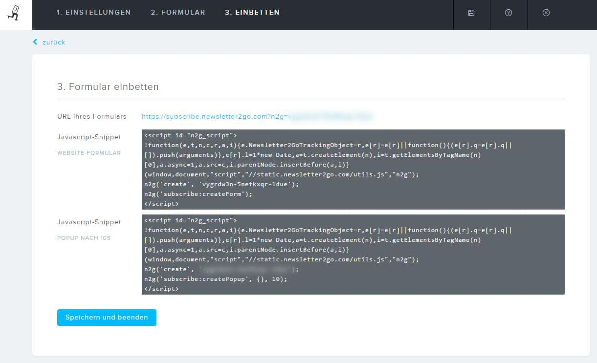 Wordpress Anmeldeformular DOI Code