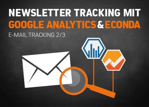 Newsletter Tracking mit Google Analytics