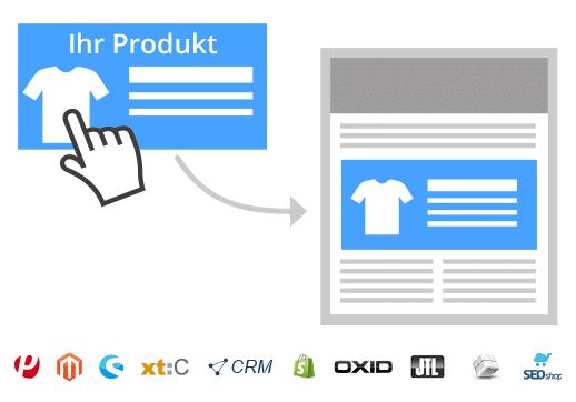 1-Klick-Produktübernahme beim Newsletter erstellen