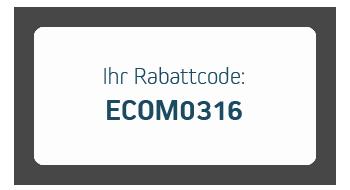 Rabattcode