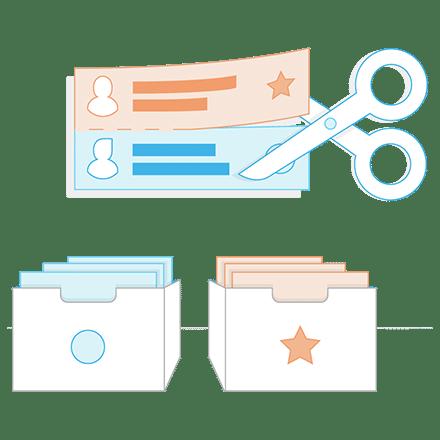 Empfänger segmentieren Newsletter