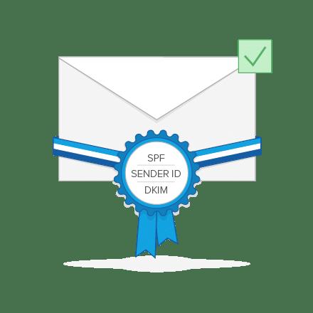 Email Marketing Software mit DKIM-, Sender ID- und SPF-Signierung