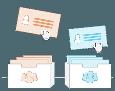 Empfänger Segmentierung Newsletter