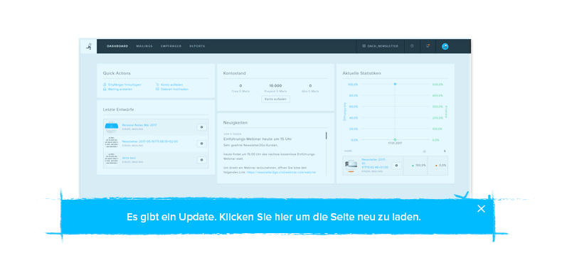 Newsletter Software Updates