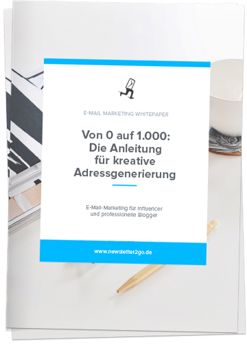 E-Mail Marketing für Influencer - Newsletter2Go