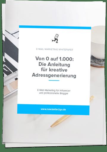 E-Mail Marketing für Influencer - Newsletter2Go