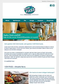 Beipsiel Vorlage Newsletter - Newsletter2Go