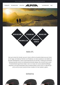 Vorlage Template - Newsletter2Go