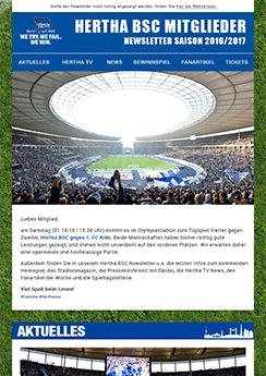 Hertha Template Vorlage - Newsletter2Go