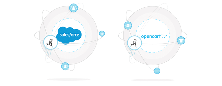 Integration zu Salesforce und Opencart - Newsletter2Go