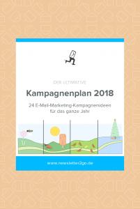 Kampagnenplan 2018 - Newsletter2Go