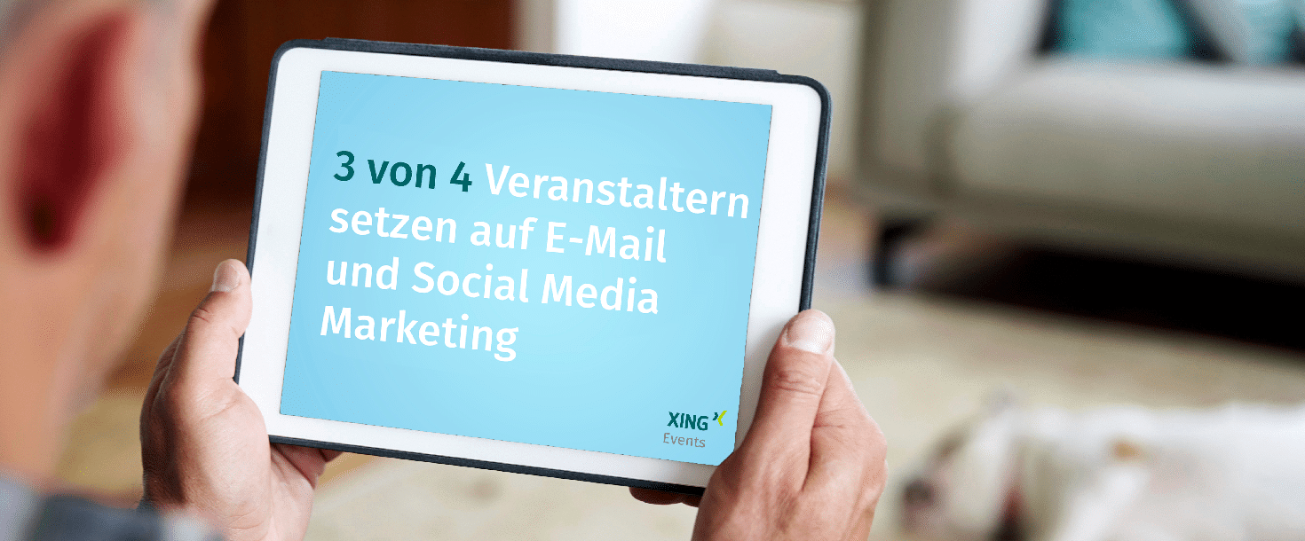 Eventvermarktung Studie von XING Events - Newsletter2Go