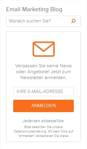 Anmeldeformular_Newsletter2Go
