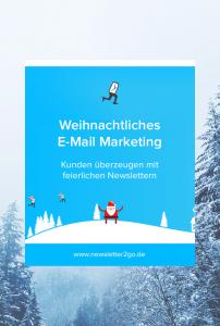 Weihnachtliches E-Mail Marketing - Newsletter2Go