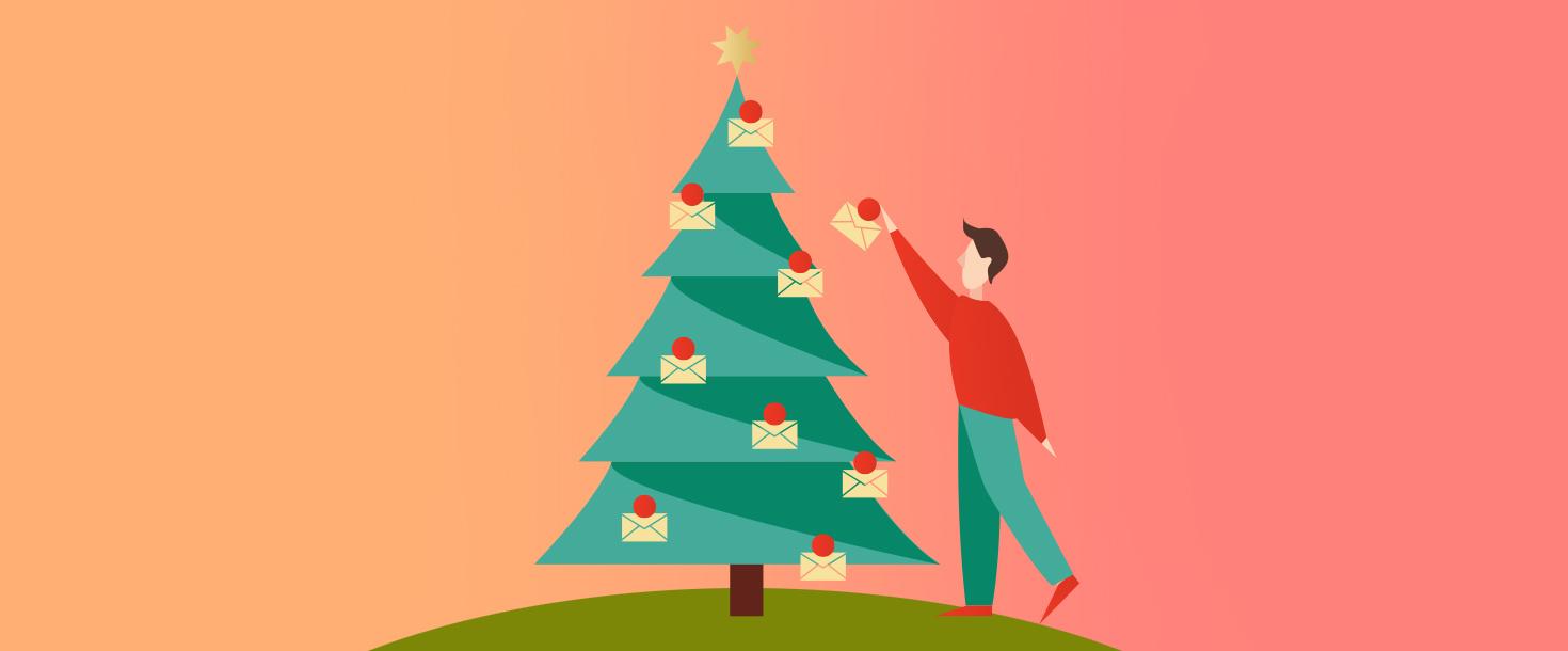 Weihnachtsgrüße Versenden Beispiele.Weihnachtsmail Vorlagen Für Festliche Kampagnen Newsletter2go