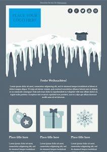 Weihnachts-Template - Newsletter2Go