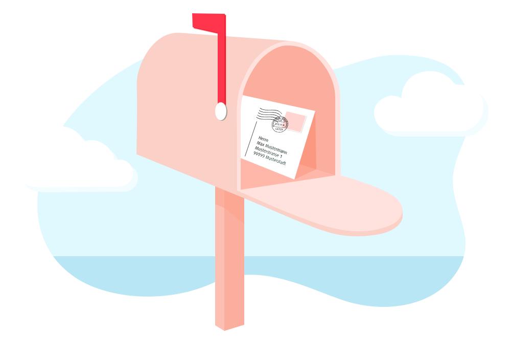 Hohe Öffnungsrate bei Postkarten-Marketing